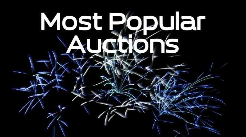 Most Popular Domain Auctions