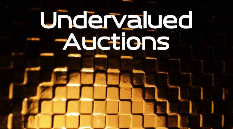 Undervalued Domain Auctions